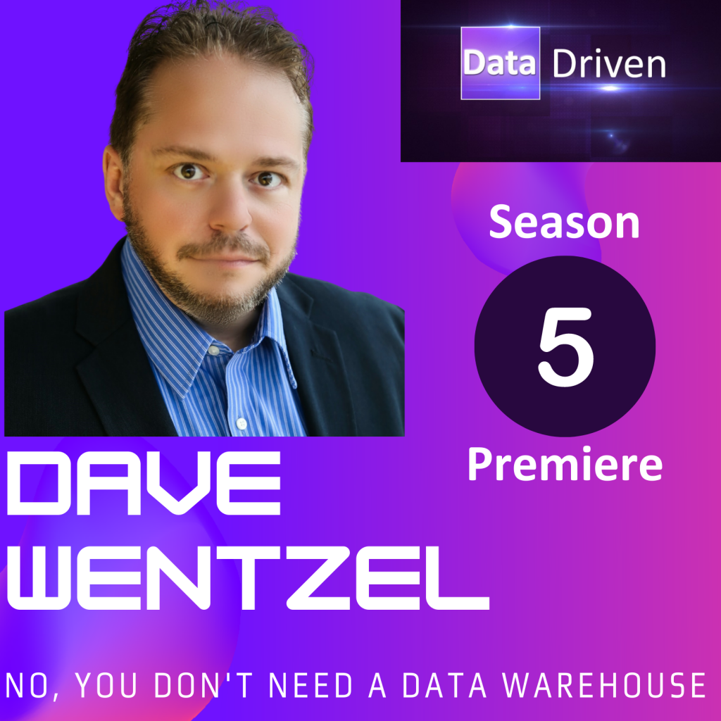 No, you don't need a data warehouse (and data kwality doesn't matter)