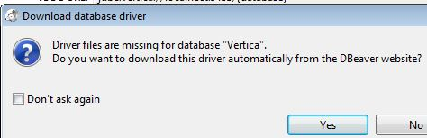 Developing with Vertica