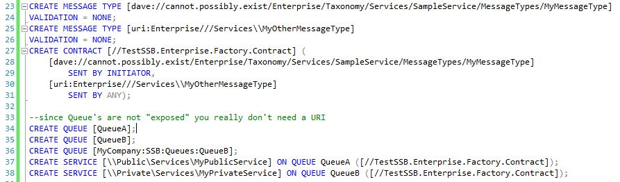 how to create message set in message broker