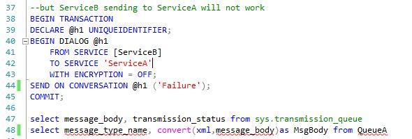 Clear service broker transmission queue